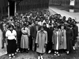 Students Who Took Part in Strike Against Inadequate African American Schools