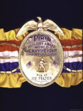 "Boxing Champ Joe Frazier's ""The Ping Magazine Award World Heavyweight Championship"" Medal"