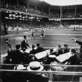 Rudy Friml Jr's Hot Jazz Band  Playing at Ebbets Field During Dodgers vs Cardinals Baseball Game