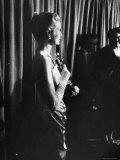 Grace Kelly Holding Her Oscar