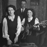 Considered the Father of Country Western Music A P Carter Singing with Wife Sara