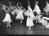 Dancers from the Corps de Ballet in the New York City Ballet Production of Seremade