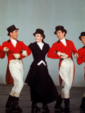 Angela Lansbury Performing with Others in the Musical &quot;Mame&quot;