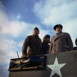 Supreme Allied Commander American General Dwight D Eisenhower and Commanders