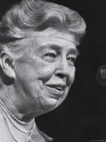Former First Lady Eleanor Roosevelt Speak at Democratic Fundraising Dinner Honoring 75th Birthday