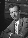 """Opera Composer Benjamin Britten After US Premiere of """"Peter Grimes"""" at the Berkshire Music Festival"""