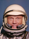 Space Suit Clad Project Mercury Astronaut John Glenn