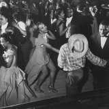 Couple Jitterbugging at the Savoy Ballroom
