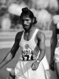 Indian Olympic Sprinter Milkha Singh at the 1960 Olympics  Rome  Italy