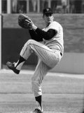 San Francisco Giants Pitcher Gaylord Perry in Action Vs the NY Mets