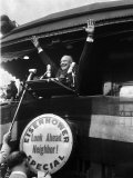 Repub Pres Candidate Dwight Eisenhower on Eisenhower Special Train
