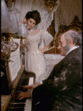 Sophia Loren in Elegant Victorian Costume  Scene from Lady L