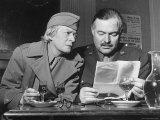 Ernest Hemingway and Janet Flanner