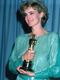 Jessica Lange in Press Room at Academy Awards