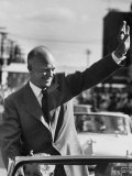 Rep Pres Candidate General Dwight D Eisenhower  on a Campaigning Tour