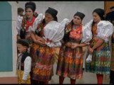 Czechoslovakians in Traditional Costumes
