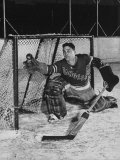 New York Rangers Goal Tender Dave Kerr Stopping the Puck