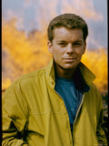 Russ Tamblyn as Riff  Gang Leader of the Jets in Scene from West Side Story