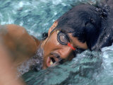 US Olympic Team Swimmer Mark Spitz in Training for Munich Summer Olympics