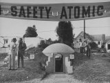 A Model Atomic Bomb Shelter for Personal Use