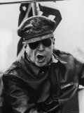 Gen Douglas Macarthur Roaring Orders From the Bridge of the Flagship USS Mount McKinley
