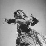 "Metropolitan Opera Mezzo Soprano Rise Stevens in the Title Role of Bizet's ""Carmen"""