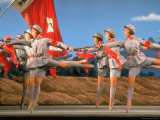Chinese Ballet Performing During President Richard Nixon's Visit to China