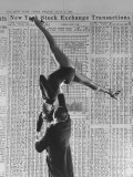 Nicholas Darvas Illustrating Successful Career on Stock Market in Dance with Half Sister Julia