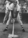 Boston Player Ted Williams  Demonstrating Coverage of Plate That Enables