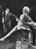 "Sheree North and Harold Lang in Scene from Broadway Musical ""I Can Get It for You Wholesale"""