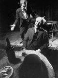 Actors Jason Robards Jr and Farrell Pelly in a Scene from the Play The Iceman Cometh