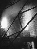 Scene at the Carnegie Illinois Steel Company