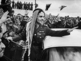 King Hussein Ibn Taltal Greeting His Subjects