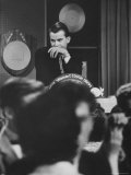 "Dick Clark on His TV Show the ""American Bandstand"""