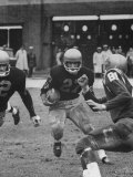 Navy's Prize Halfback Joe Bellino Playing in a Game Against Notre Dame