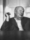 Composer Paul Hindemith Sitting in an Unidentified Office