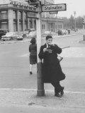Life Photographer Paul Schutzer  in East Berlin