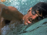 US Swimmer Mark Spitz Training for 1972 Munich Olympics