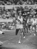Australian Herb Elliot  Winning Men's 1500 Meter Race  at Olympics
