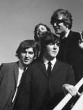 Beatles' Arrive at Airport on 2nd Us Tour