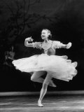 "Soviet Ballerina Galina Ulanova Dancing in Title Roll of Ballet ""Giselle"" at the Bolshoi Theater"