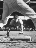 Baseball Player for Los Angeles Dodgers Maury Wills
