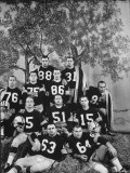 The Green Bay Packers  the 1961 NFL Champions  Posing for a Team Picture