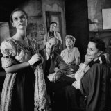 Susan Strasberg in Scene from the Play &quot;Diary of Anne Frank&quot;
