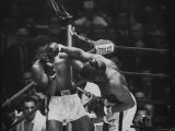 Cassius M Clay and Sonny Liston During World Championship Fight