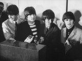 Beatles' at Press Conference in San Francisco Airport