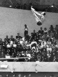 US Platform Diver Frank Gorman Competing in Olympics