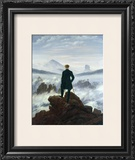 The Wanderer above the Sea of Fog  1818