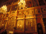 Icons in the Cathedral of the Dormition  Moscow  Russia