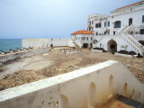 Cape Coast Castle with Cannons Along the Waterfront  World Heritage Site  Cape Coast  Ghana